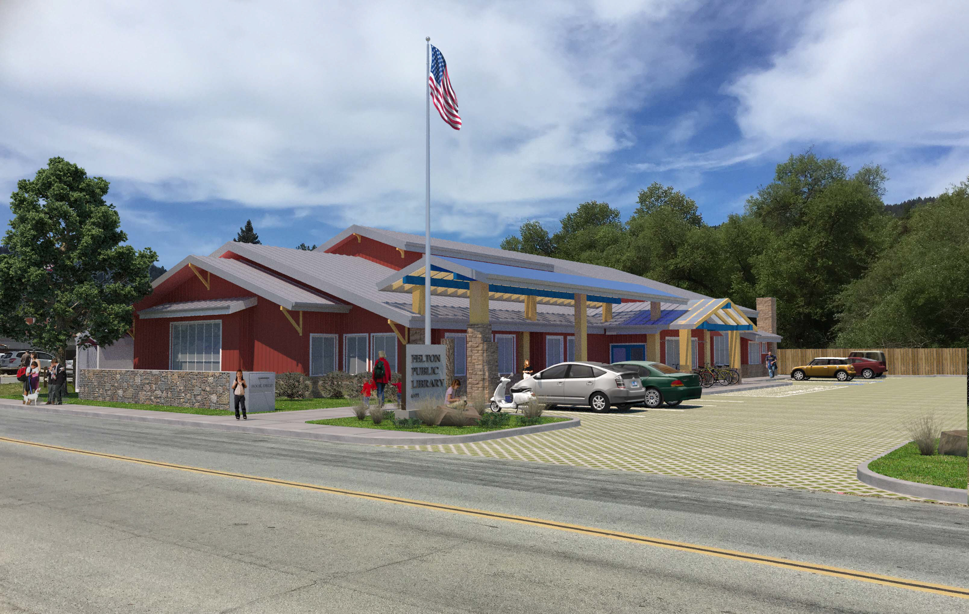 Felton Public Library – A Design from the Heart