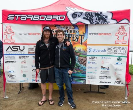 Whitewater Finalists. 1 Elliot Barlas, 2 Luke Boserio, 3 Toby Roessingh.
