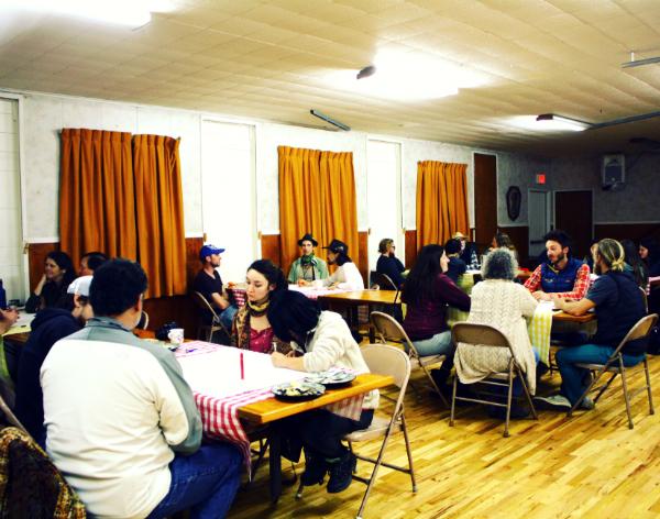 Santa Cruz Permaculture Guild meeting at Live Oak Grange