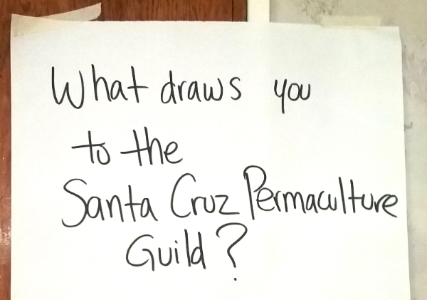 What draws you to the Santa Cruz Permaculture Guild?