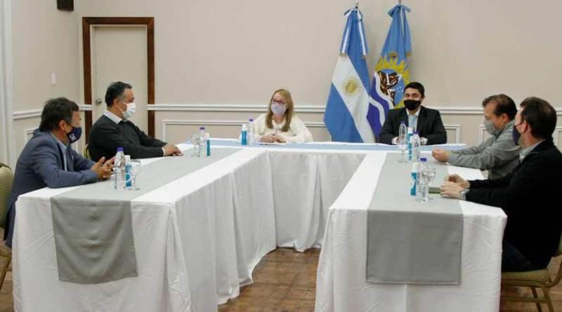 Alicia se reunió con autoridades de la Comisión Nacional de Regulación del Transporte
