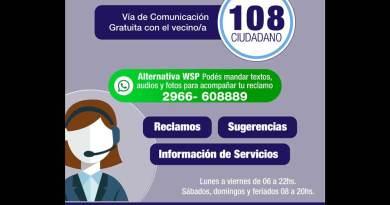 108 WhatsApp