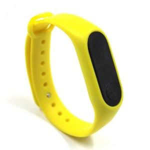Yellow Touch Sensor Wrist Watch