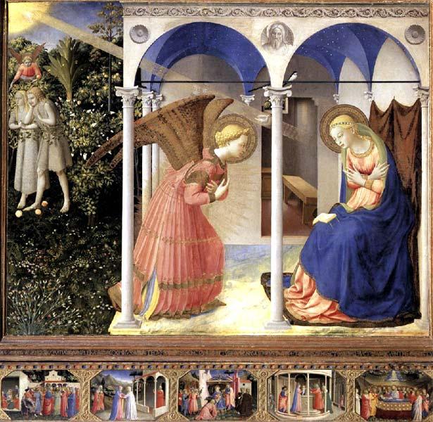 Anunciación de Fra Angelico