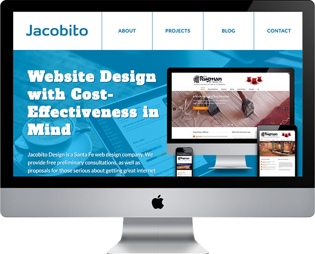 Jacobito's new website