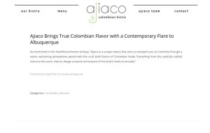 Ajiaco Blog