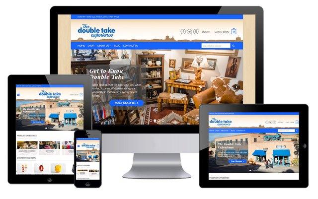 santa fe double take website project