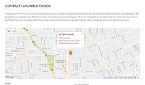 Lo Carb - U Google Map