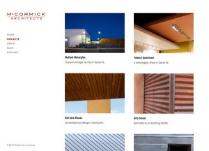McCormick Projects Page