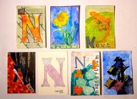 """""""N"""" Postcards"""