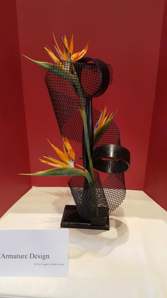 Arms with Bird of Paradise