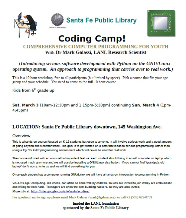 March 2018 Coding Camp