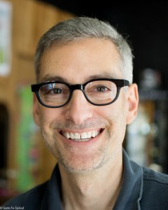 David in wood and buffalo horn frames by Gold & Wood.