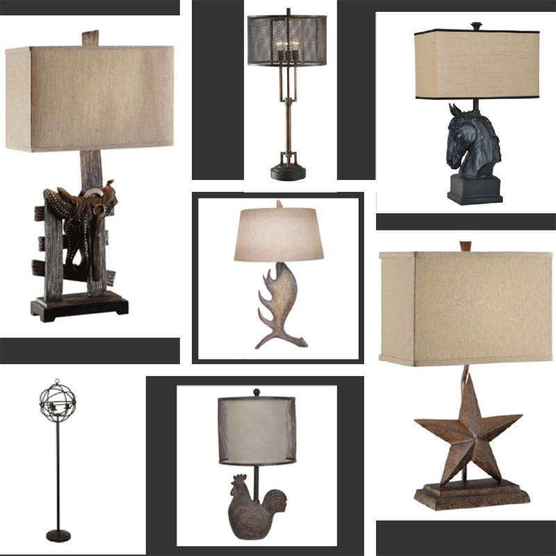 Collage Lamps 2