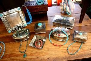 Rustic Silver Treasure Boxes