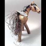 Cassandra Sharon's horses are coming to Santa Fe Trail Jewelry!