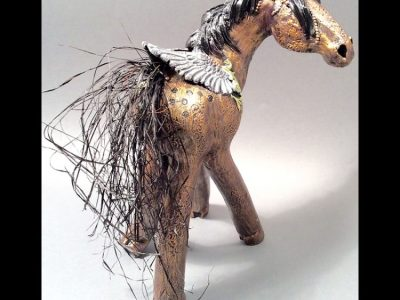 Cassandra Sharon's horses are coming to Santa Fe Trail Jewelry!