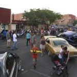 Hundreds of Hot-Rods Pack Downtown Farmington Streets