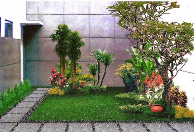 65 Desain Taman Minimalis Simpel Sederhana Dan Mudah Dibuat