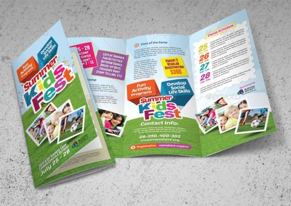 contoh brosur sekolah