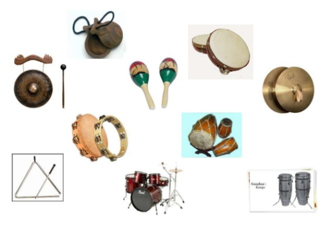 Gambar-alat-musik-ritmis