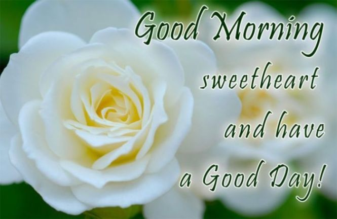 Ucapan selamat pagi romantis