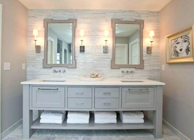 Delight very small bathroom remodel ideas #Tinyspace #Vanities #Apartmenttherapy #Masterbathroomideas