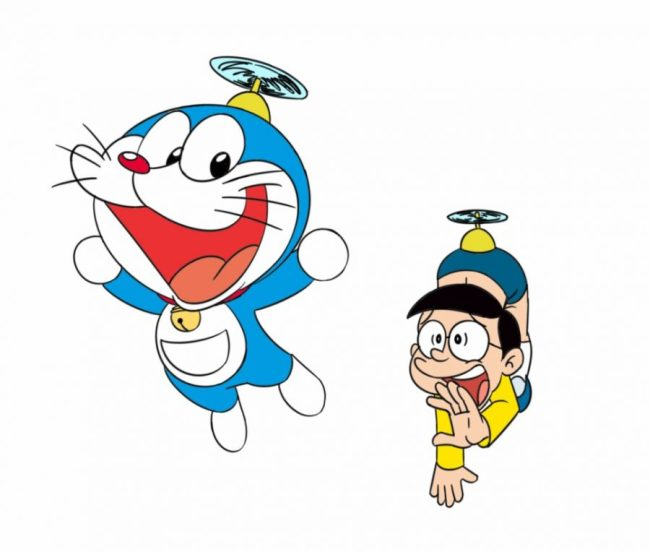 Gambar Doraemon dan Nobita
