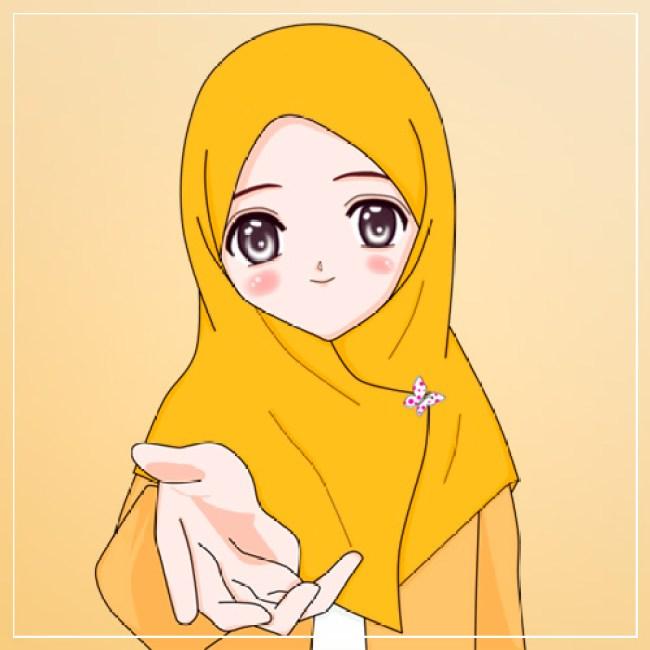Gambar Kartun Lucu Muslimah