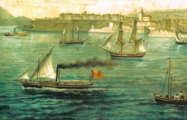 La antigua Santander