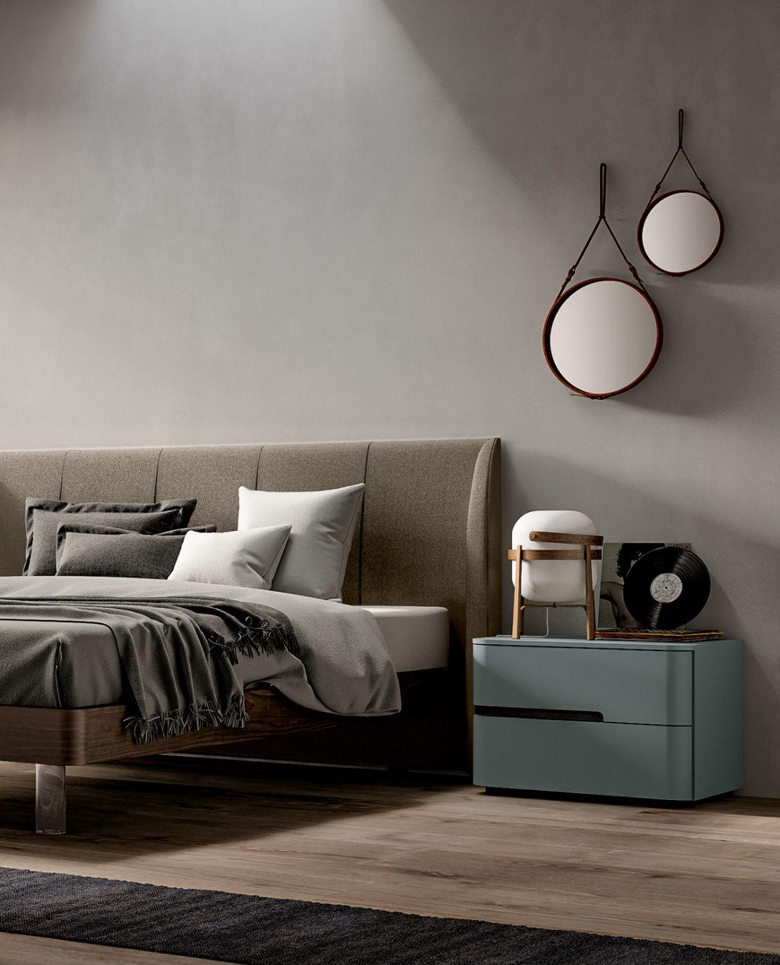 Cabina armadio sotto il letto, un originale modo di organizzare la camera da letto sfruttando le altezze. Idee Per Rendere Luminosa E Accogliente Una Camera Da Letto Piccola Santalucia