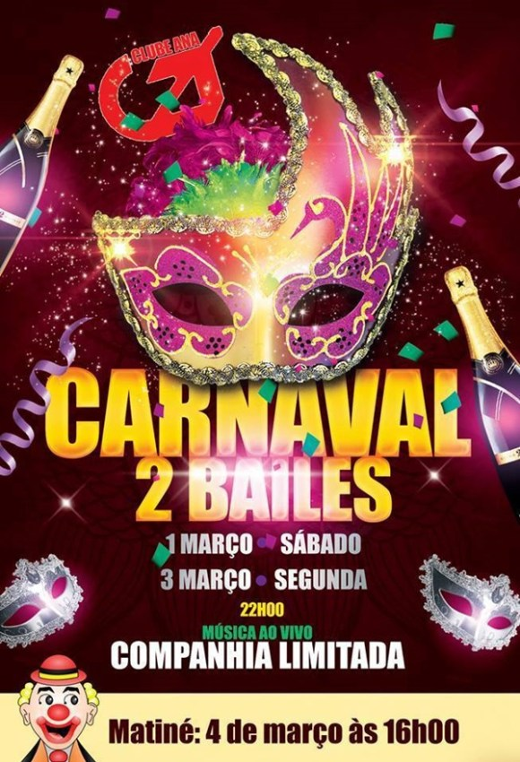 Baile Carnaval Clube Ana2