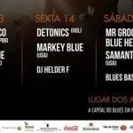 XIV Santa Maria Blues 13,14 e 15 de Julho Cartaz