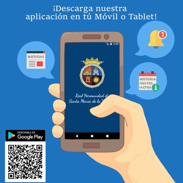 Descarga nuestra Aplicación para Móvil y Tablet