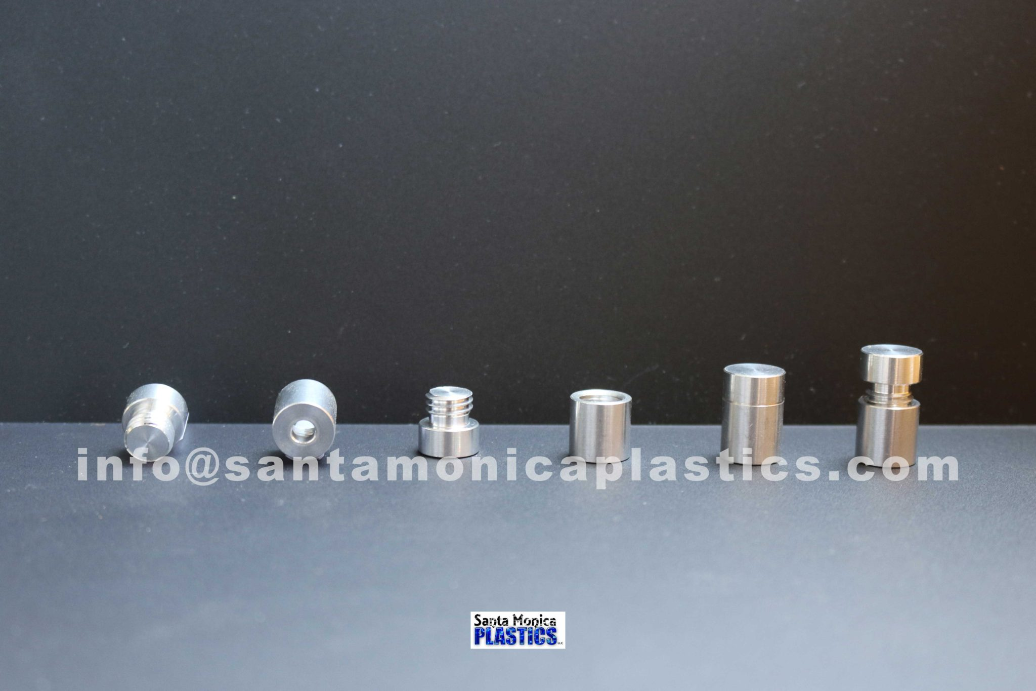 "Aluminum Standoffs #1 Size 0.5"" X 0.75"" (4 Pieces)"