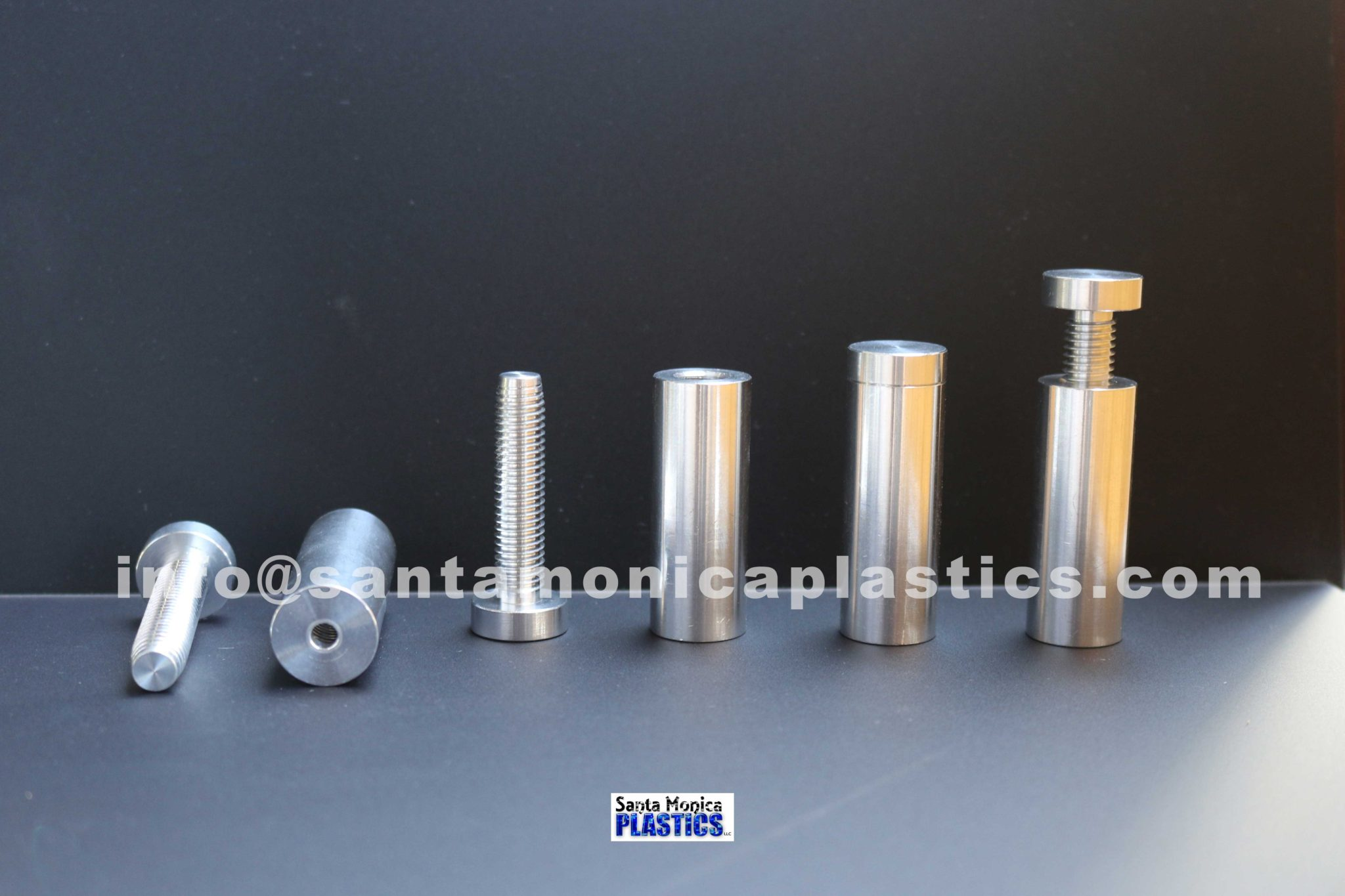 "Aluminum Standoffs #6 Size 0.75"" X 2.25"" (4 Pieces)"