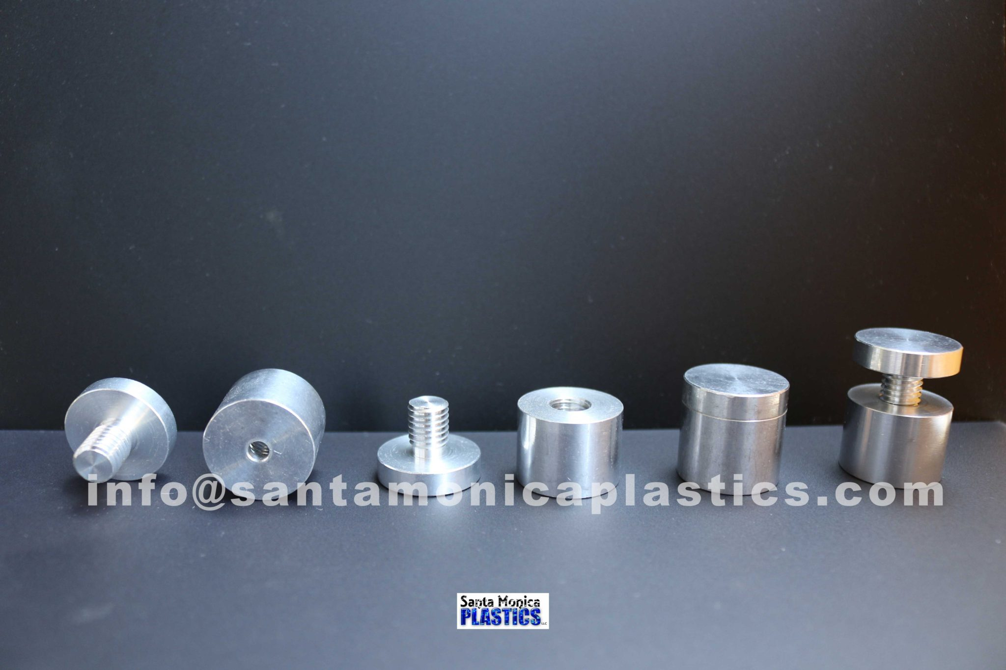 "Aluminum Standoffs #7 Size 1"" X 1"" (4 Pieces)"