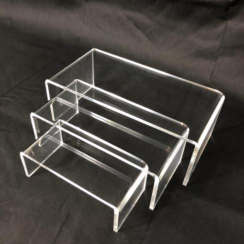 Acrylic Clear Risers