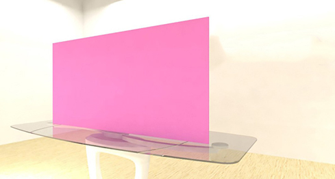 Acrylic Sheets – Cut To Size –  Opaque Pink – S157