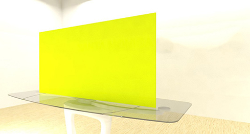 Acrylic Sheets – Cut To Size –  Opaque Yellow – S2037