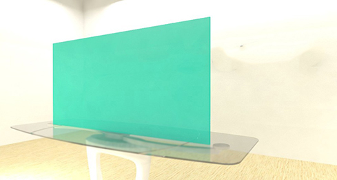 Acrylic Sheets – Cut To Size – Translucent Caribbean Green – S2047