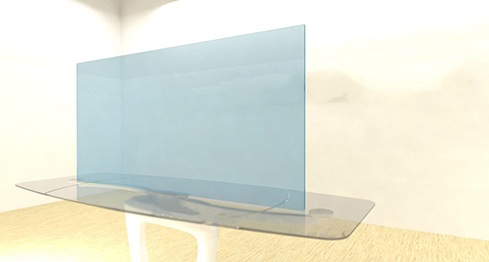 Acrylic Sheets – Cut To Size – Transparent Light Powder Blue – S2069