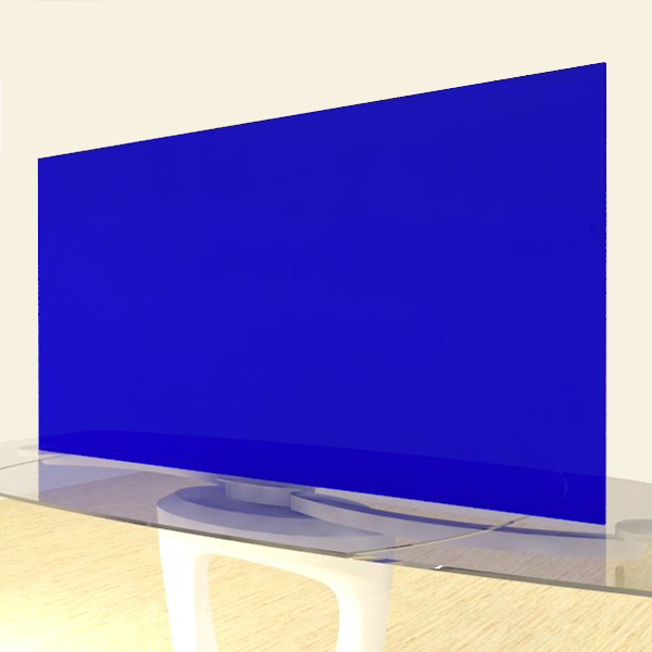 Acrylic Sheets – Cut To Size – Opaque Prussian Blue – S2050