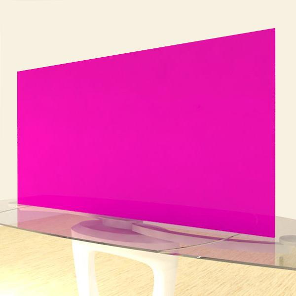 Acrylic Sheets – Cut To Size –  Opaque Fuschia Pink – S118