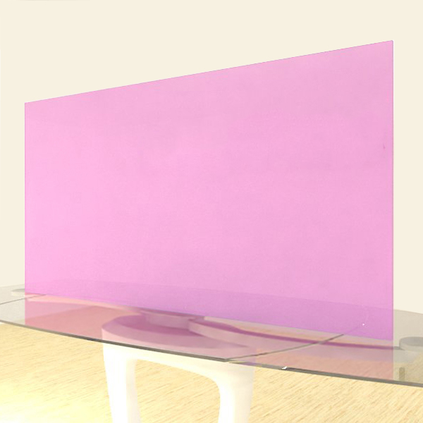 Acrylic Sheets – Cut To Size –  Frosted Cotton Candy Pink – SS162