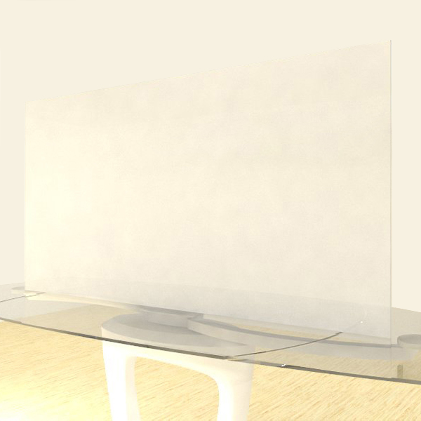Acrylic Sheets – Cut To Size –  Milky White – 2447