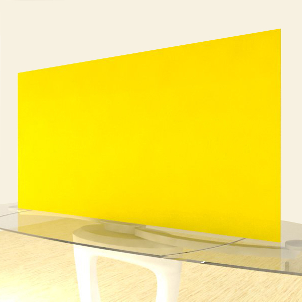 Acrylic Sheets – Cut To Size –  Opaque Light Yellow – S2465