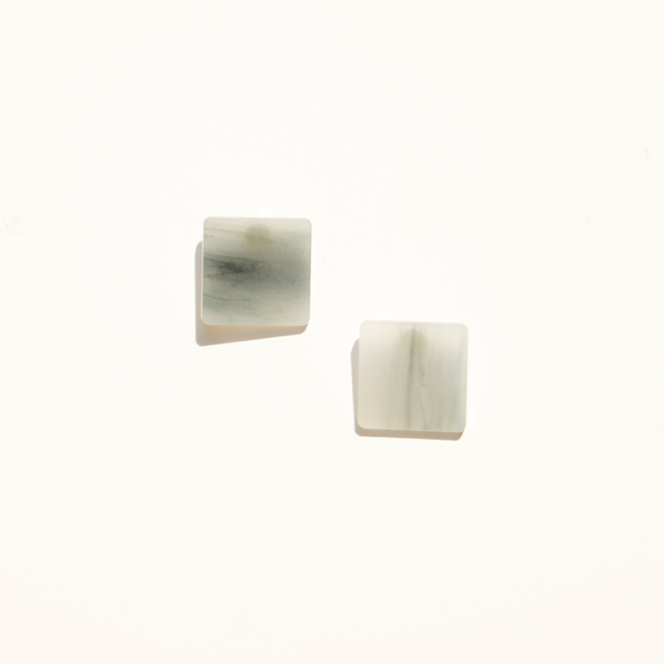 Eden Post Earring – Pale Blue
