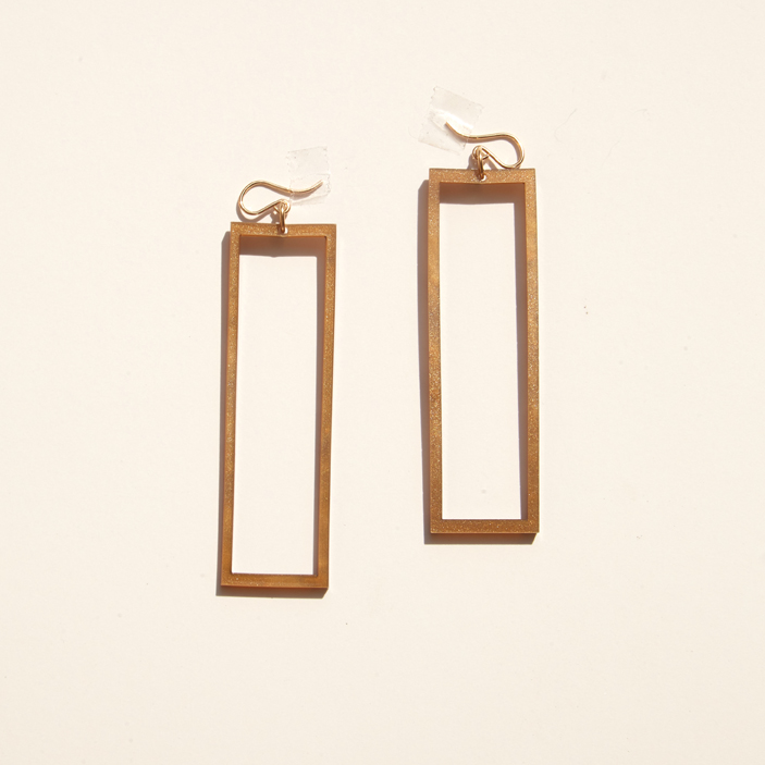 Alexis Drop Earring – Cocoa