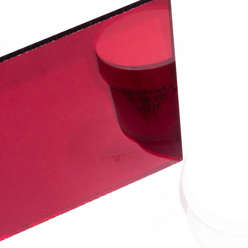 Mirror Sheets – Cut To Size –  Red Acrylic Mirror 2423